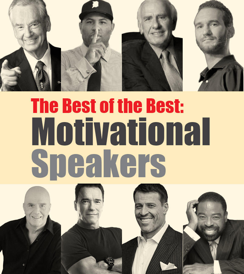 The Best of the Best: Motivational Speakers
